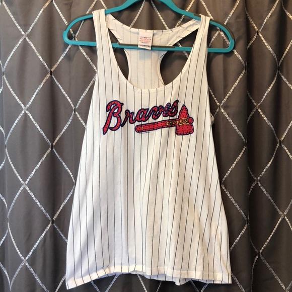 premium selection e72f0 6ea2b AUTHENTIC Atlanta Braves Women's Jeweled Tank!
